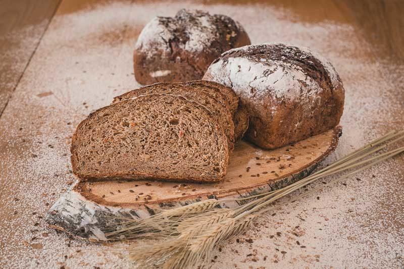 Chleb gryczany z warzywami