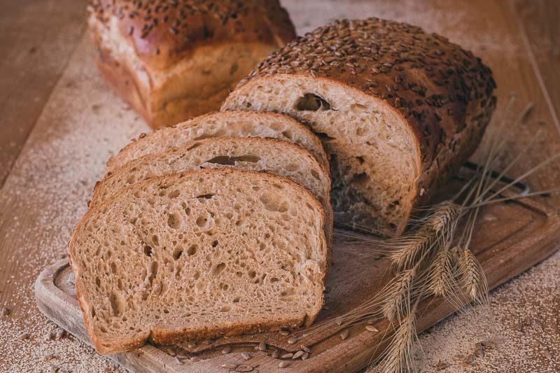 Chleb żytni ze słonecznikiem